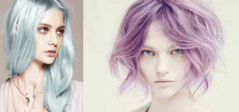 best violet metallic hair color salons nyc